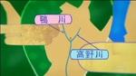 高野川と鴨川に挟まれた三角地帯(『四畳半神話大系』第1話より)