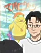 『SHIROBAKO』第1話の会議室の壁に貼られているポスター